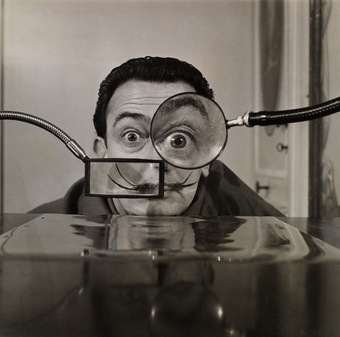 Великий сюрреалист Сальвадор Дали.