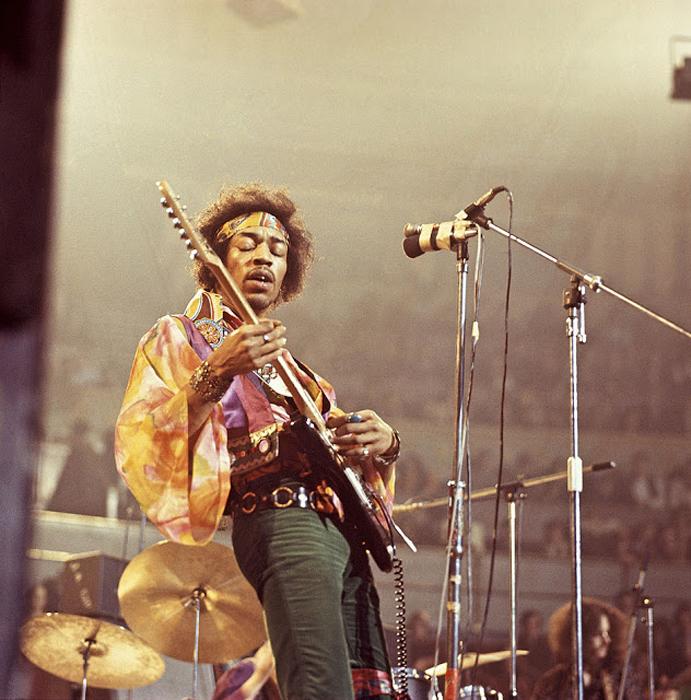 Jimi Hendrix. Автор фото: David Redfern.