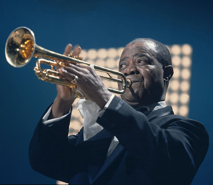 Louis Armstrong.  Автор фото: David Redfern.