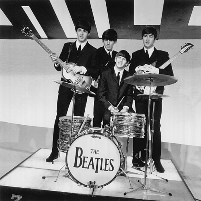 The Beatles в Бирмингеме 1963г. Автор фото: David Redfern.
