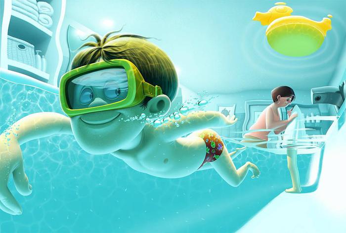 Время купания. Автор: Denis Zilber.
