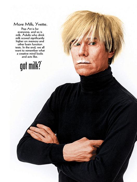 Кампания Got Milk? с 1993 по 2014 призывала американцев пить молоко.