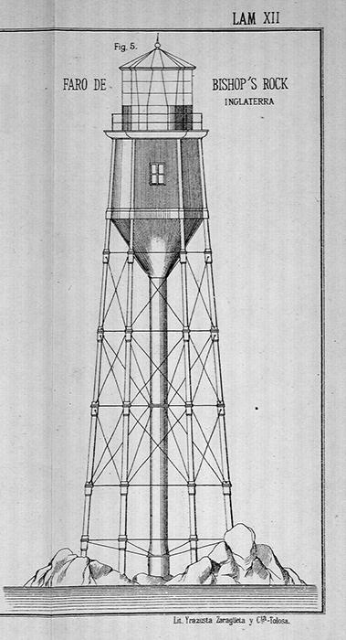 Первый вариант маяка.