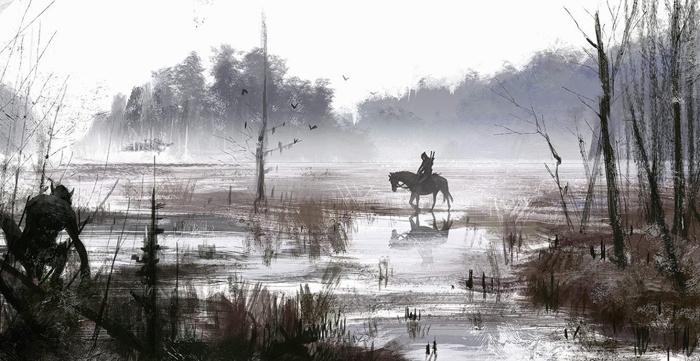 Удивительные картины Якуба Розальски.