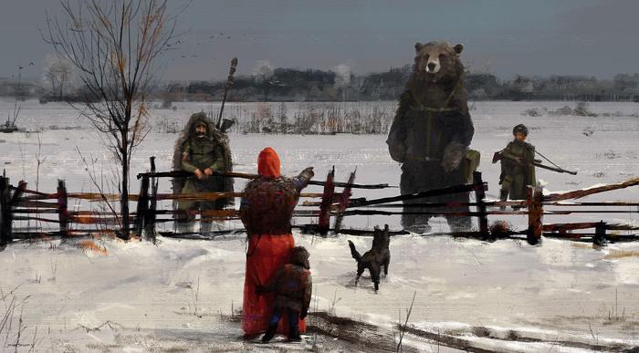Странные посетители.