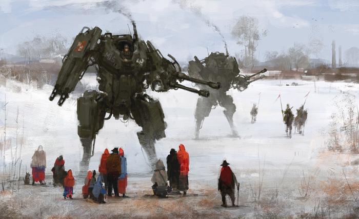 Картины Якуба Розальски.