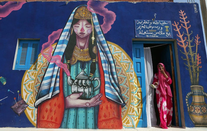 Работа Malakkai из Испании. Фото:  Mohamed Messara.