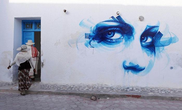 Работа Dan23 из Франции. Фото:  Mohamed Messara.