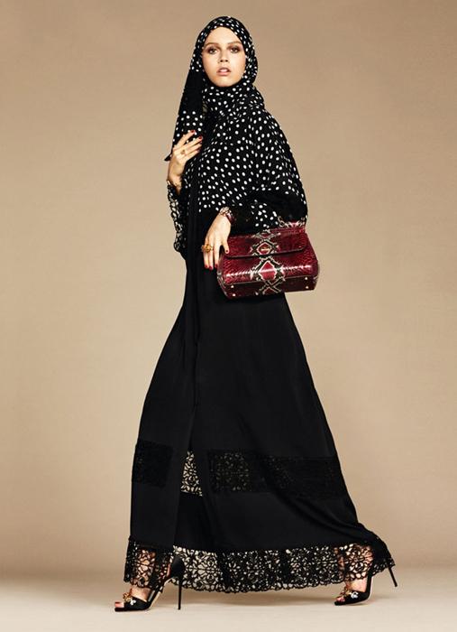 Классические абайи по-европейски.The Dolce & Gabbana Abaya Collection.