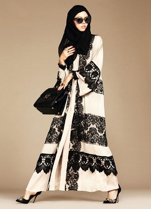 The Dolce & Gabbana Abaya Collection.