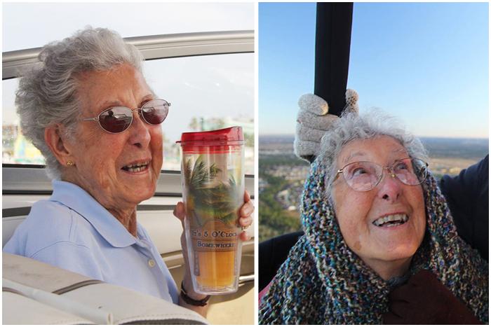 90-летняя Норма отказалась от химиотерапии и отправилась в грандиозное путешествие.