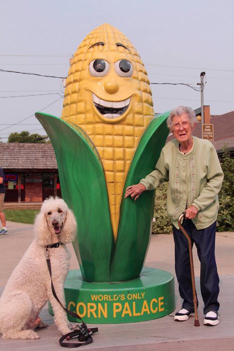 Единственный в мире дворец кукурузы.