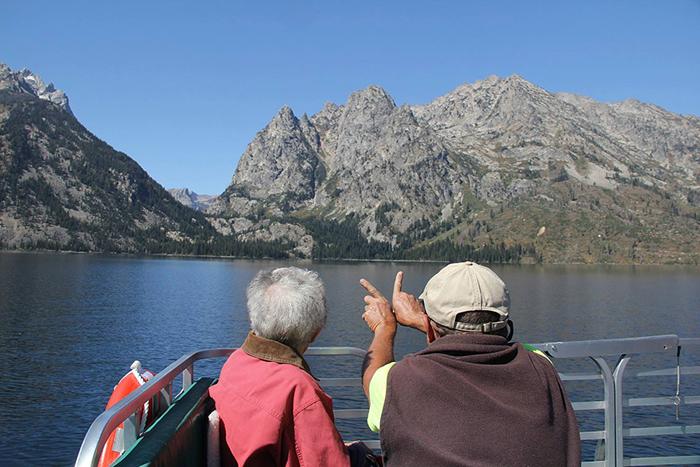 Норма посетила гору Рашмор, национальный парк Йеллоустоун и Скалистые горы.