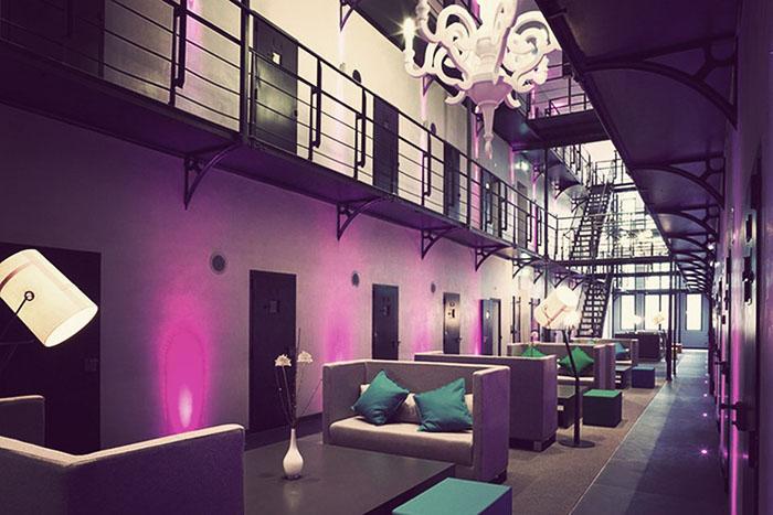 Het Arresthuis - бывшая тюрьма, теперь отель.
