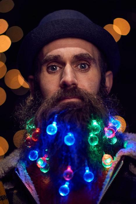 Рождественские гирлянды для хипстеров. Фото: Mikael Buck.