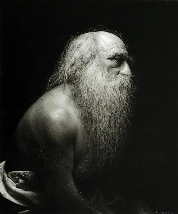 Портрет старика.  Автор: Emanuele Dascanio.