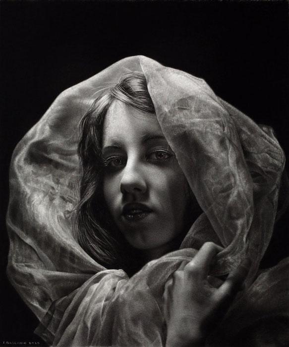 Портрет Моники. Автор: Emanuele Dascanio.