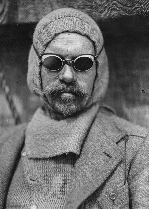 Фрэнк Уайлд, заместитель начальника экспедиции.
