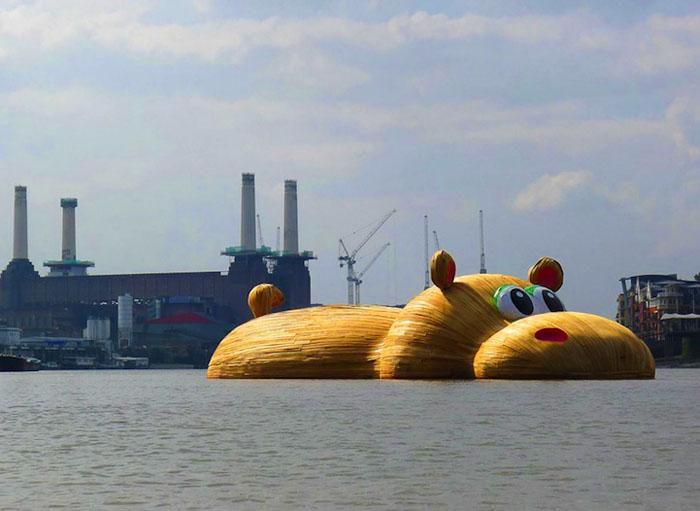 ГиппоТемз был создан в рамках фестиваля Totally Thames.