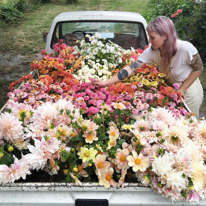 По дороге на продажу.  Instagram floretflower.