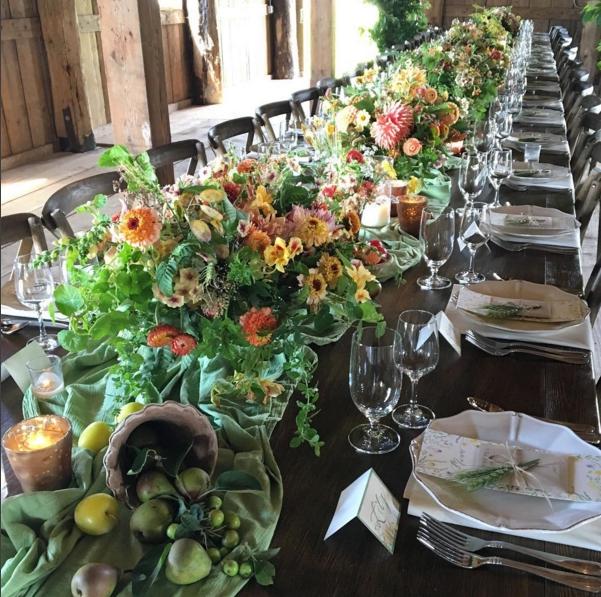 Украшение стола.   Instagram floretflower.