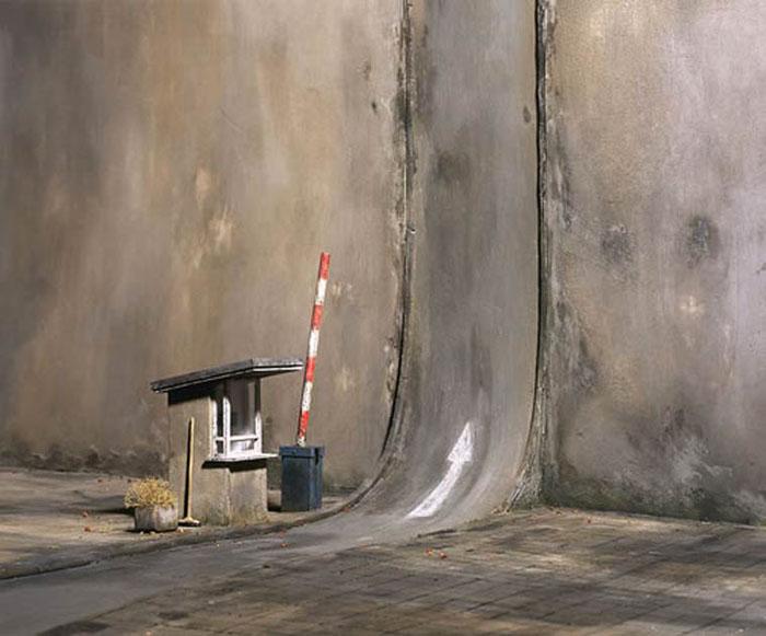 Прямо, не сворачивая. Автор: Frank Kunert.