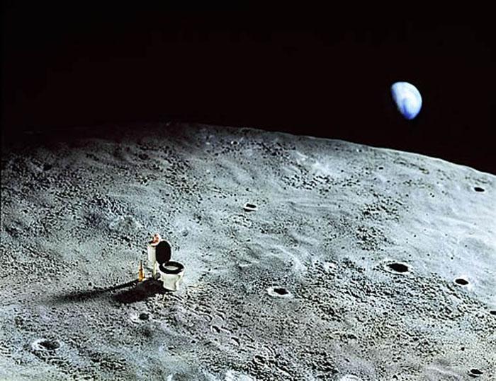 На Луне. Автор: Frank Kunert.