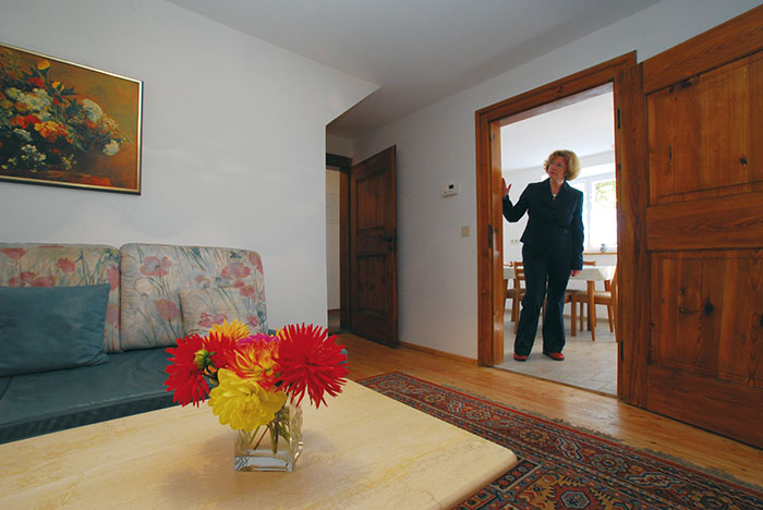 Внутреннее убранство одного из домов в квартале Фуггеров.