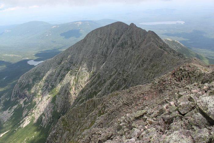 Гора Катадин, через которую пролегает маршрут Аппалачской тропы.