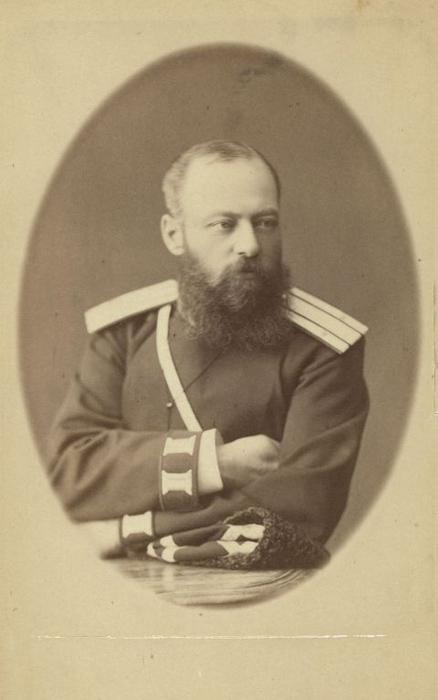Христофор Фомич Маковский, полицмейстер Иркутска.  Фото: George Kennan.