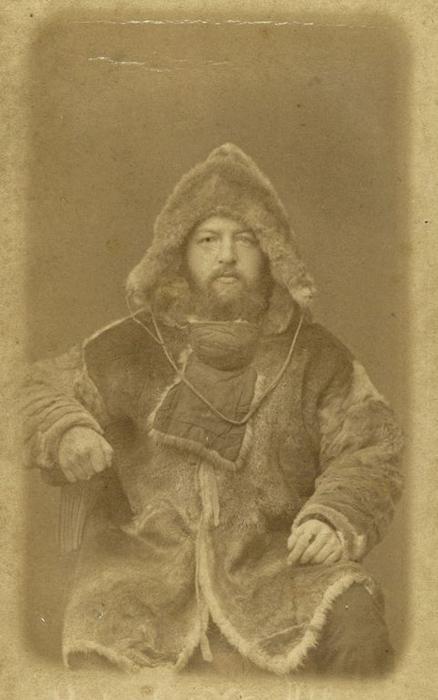 Доктор Александр Александрович Бунге, исследователь Арктики. Фото: George Kennan.