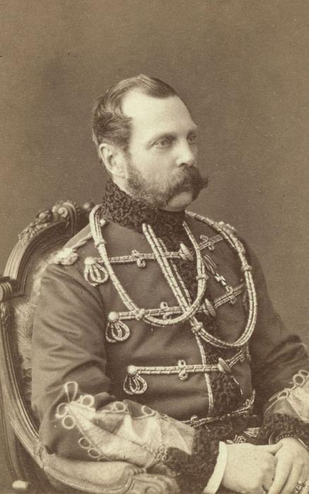 Александр Второй, российский император с 1855 по 1881гг.  Фото: George Kennan.