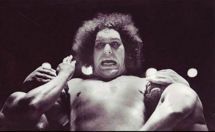 Гигант Андре на ринге.