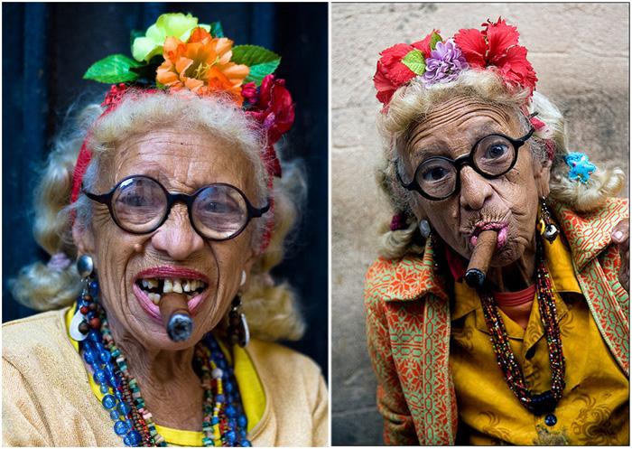 Грасиэла Гонзалес - самая узнаваемая женщина Кубы.