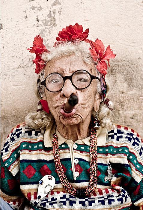 Аутентичная красавица из Кубы.