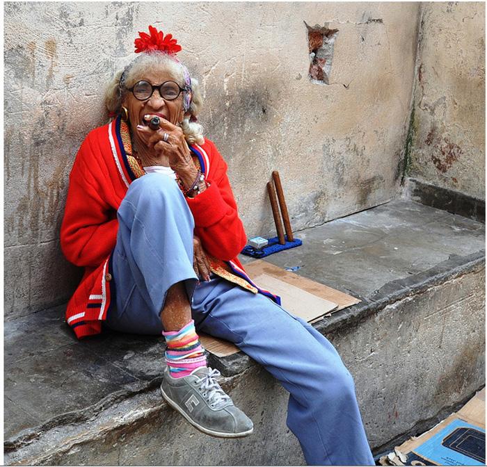 Самая узнаваемая женщина Кубы.