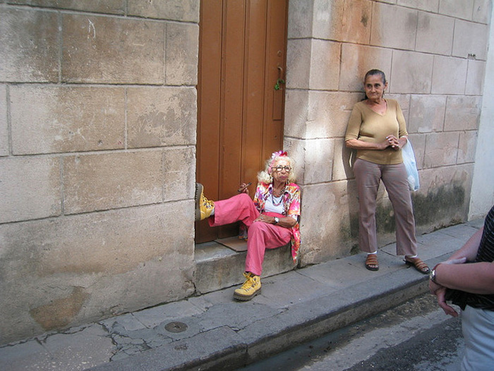 Бизнес есть бизнес. Грасиэла и ее помощница.