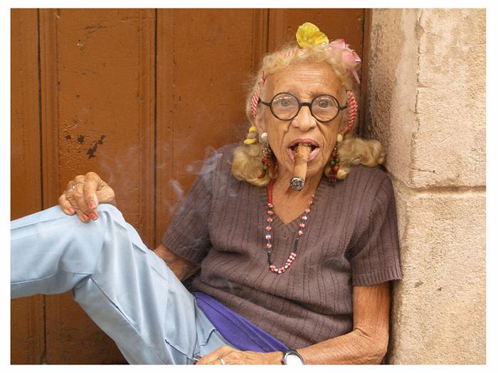 Бабушка по-кубински.