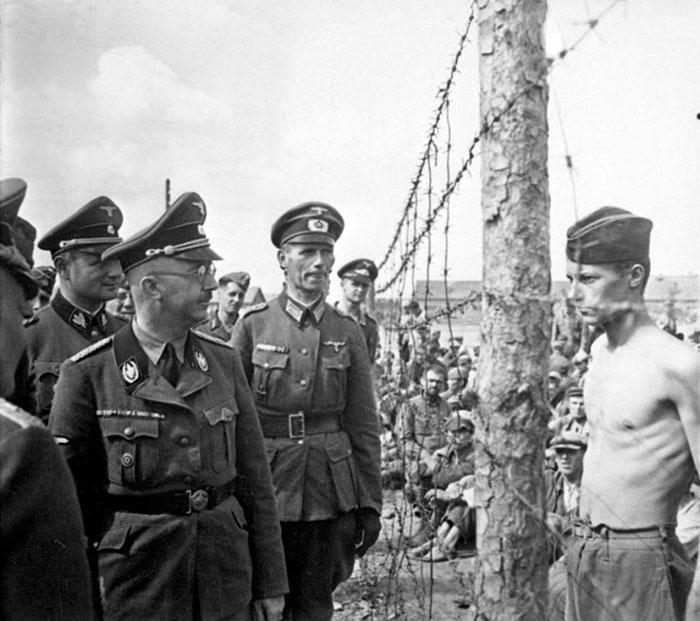 Генрих Гимлер и Гораций Грисли.