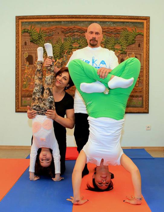 Учитель йоги из Турции.