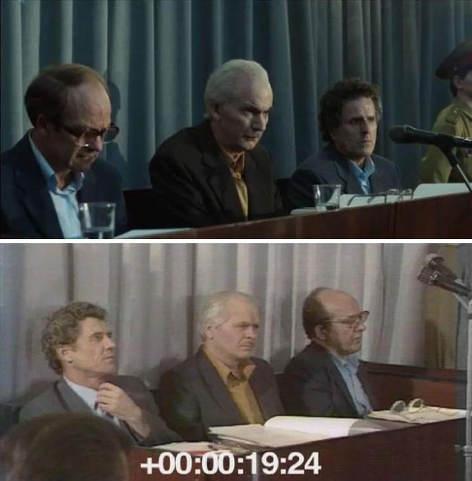 Суд в июле 1988 года.