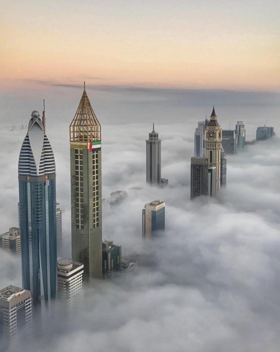 Доброе утро, Дубай.  Instagram faz3.