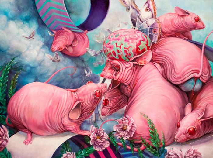 Иерархия подопытных объектов. Автор: Hannah Faith Yata.