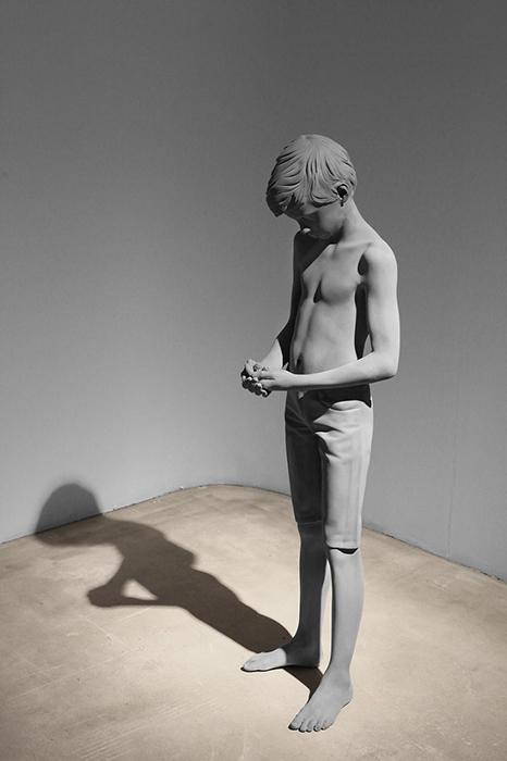 Скульптура мальчика 2016 год.