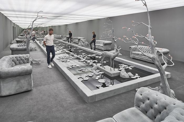 Комната с садом - скульптурная композиция (2016).