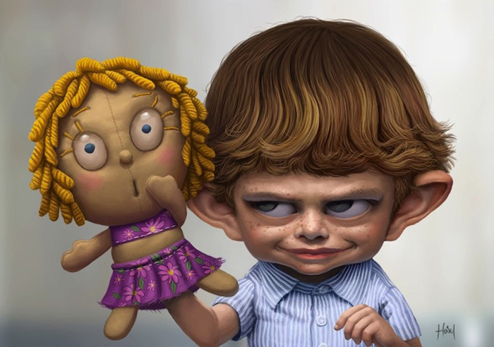 Кукла.  Автор: Tiago Hoisel.