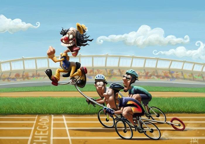 Велогонки. Автор: Tiago Hoisel.