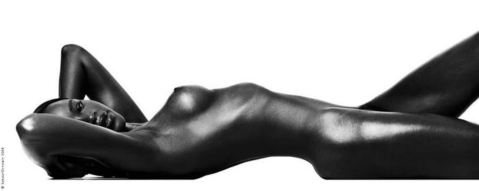 Красота обнаженного тела. Автор фото: Howard Schatz.