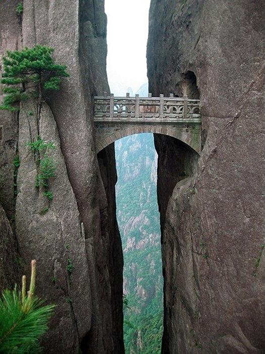 Мост Бессмертных. Хуаншань, Китай.