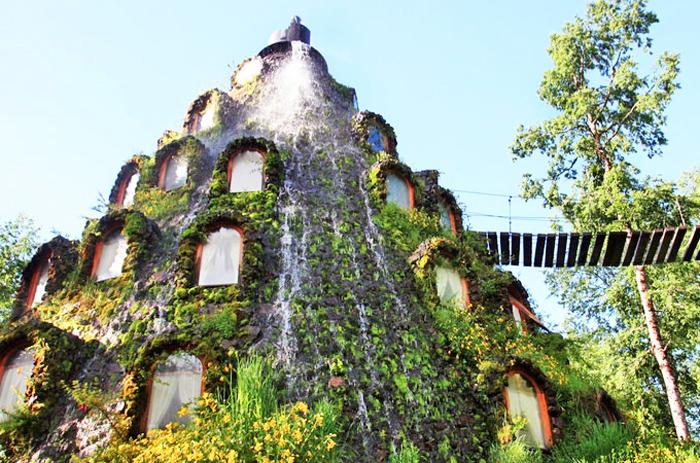 Отель в Чили.